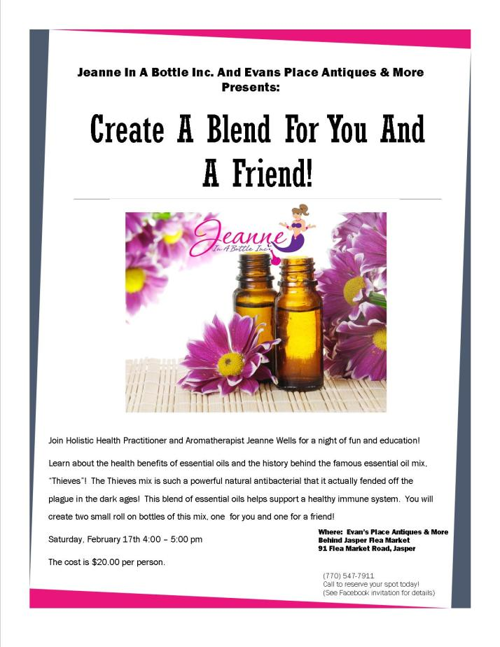 Create A Blend For You And A Friend