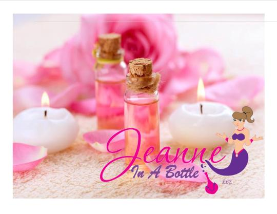 jeanne in a bottle llc pink candles