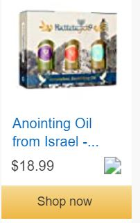 Anointing Essential Oil Set